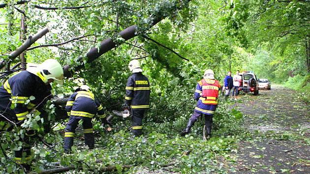 Část Bílého Kostela podél vody byla neprůjezdná, stromy zpřetrhaly elektrické vedení. Podobná situace byla kolem Grabštejna, Chotyně a Hrádku nad Nisou.