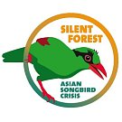 Logo kampaně Silent Forest.