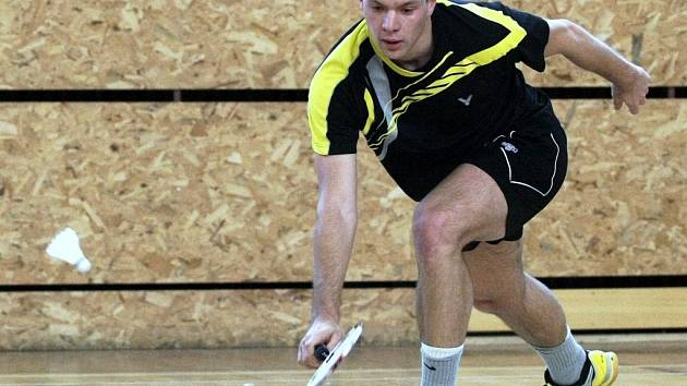 Badminton - Jan Slatinský.