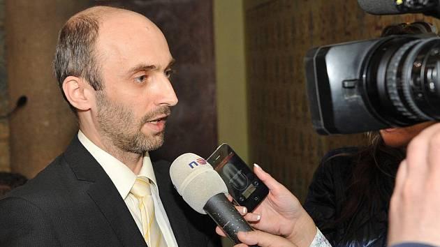 Kandidát na hejtmana za uskupení Změna pro Liberecký kraj Jan Korytář