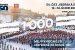 Tradiční závod Jizerská 50 hlásí 1 000 přihlášených.