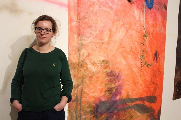 Mladá finalistka Ceny Jiřího Chalupeckého Viktorie Langer vystavuje v Oblastní galerii Liberec.