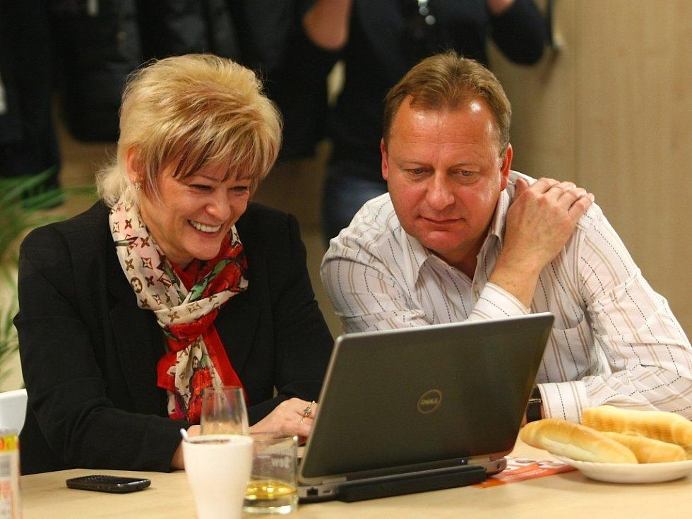 Martina Rosenbergová a Pavel Ploc