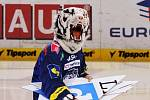 Vítězové soutěže si složili logo na ledě s hokejisty HC Bílí Tygři