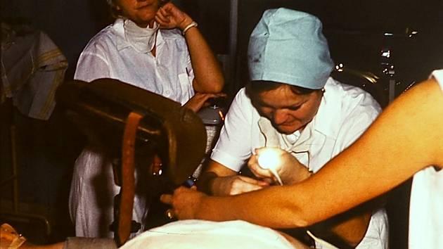 ARO v Krajské nemocnici v Liberci.