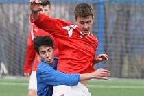 Fotbalové utkání. Ilustrační snímek