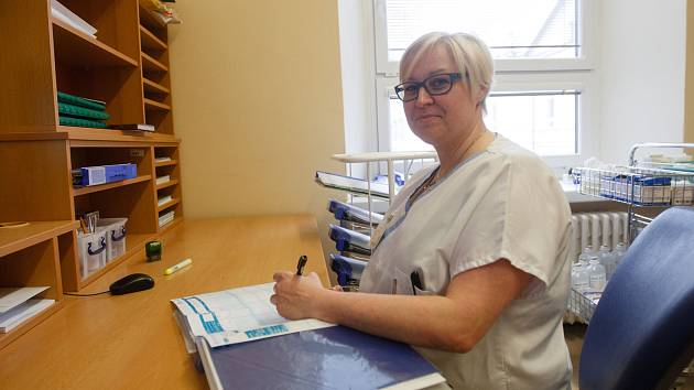 Silvie Schwertschalová, všeobecná sestra se specializací.