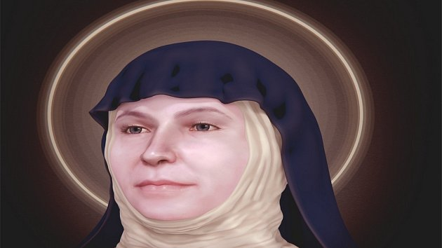 Svatá Zdislava.