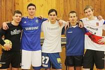 VÍTĚZNÁ L4 2013. Zleva: Filip Herout, Filip Bobvoš, Michal Průcha, Petr Ondráček, Štěpán Cvejn.