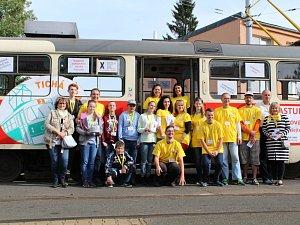 Tichá tramvaj projela Libercem