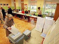 Volby na Liberecku.