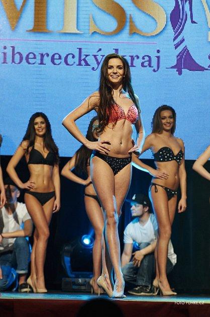 Finálový večer Miss Liberecká kraj 2016vKulturním domě vLiberci.