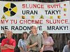 V obci Kotel opět demonstrovali proti těžbě uranu.