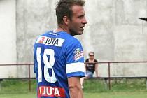 STŘELEC DENIS FRIMMEL. Zatím působí v juniorce Slovanu Liberec, ligové starty má tři.