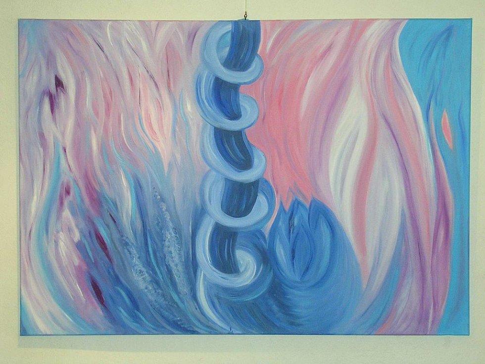 LÉČIVÉ OBRAZY. Pro sílu svých léčivých obrazů je Věra Klucká vyhledávaná.