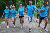 Do závodu Run Up se zapojili společne s olympioniky i modelky nebo zpěvák Ondřej Ruml.