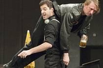 Novinka Testosteron je temperamentní a místy šokující komedie, plná vtipných dialogů, odehrávající se v současnosti.