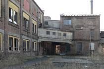 Areál bývalé tiskárny textilu Slezan ve Frýdlantě.