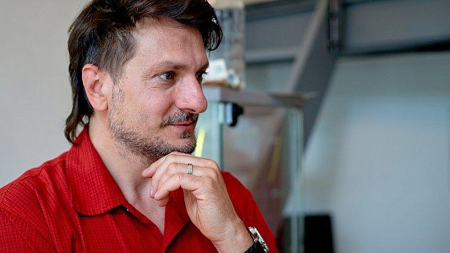 Galerista Martin J. Pouzar.