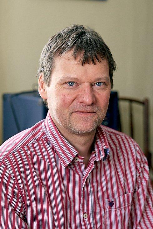 Filip Susa, evangelický farář a nemocniční kaplan.