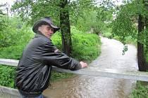 JIŘÍ URBAN pamatuje už několik povodní.