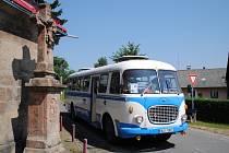 HISTORICKÉ autobusy Škoda 706 RTO a Karosa ŠL 11.