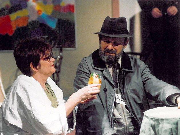 ZTÍŽENÁ MOŽNOST SOUSTŘEDĚNÍ. Další liberecká premiéra hry Václava Havla proběhla 23. ledna 2004 v Malém divadle.