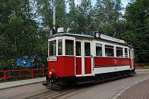 Oslava 90 let tramvaje Bovera v Liberci.