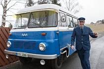 8. března se konala jízda historickými autobusy do libereckých Radčic k příležitosti 35. výročí od zahájení provozu na této lince.