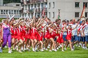 Krajský sokolský slet se konal 10. června v Turnově. Slet byl zahájen slavnostním průvodem z náměstí Českého ráje na městský stadion, kde proběhlo hromadné cvičení.