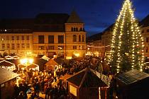 Vánoční trhy v Budyšíně.