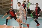 Futsalisté Liberce pouze remizovali s Hodonínem 7:7.