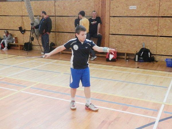 ÚSPĚŠNÍ mladí liberečtí badmintonisté - Filip Marek.
