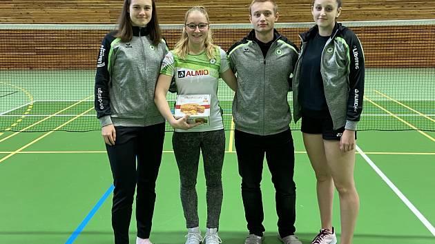 Zleva: Šárka Líbalová, Iva Foukalová, Ondřej Klimeš a Soňa Hořínková.