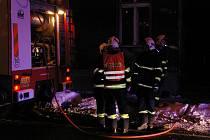 V pátek vpodvečer hořelo na Jablonecké ulici v Liberci.