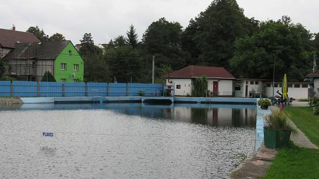 Koupaliště v Chrastavě.
