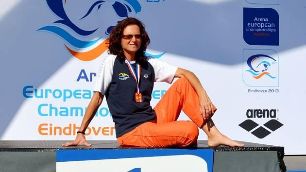 NA SVĚTOVÉM ŠAMPIONÁTU V EINDHOVENU. Lenka Stluková z Liberce byla jedinou plavkyní z krajského města.