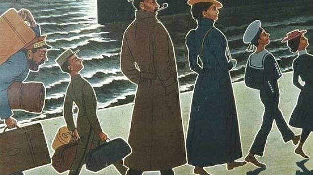 Historický cestovní plakát