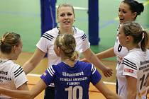 Liberecké volejbalistky vyhrály ve Frýdku–Místku.