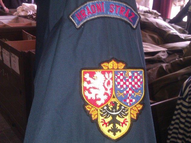 uniforma výprodej Hradní stráž Liberec