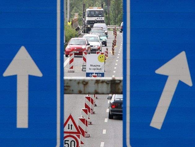 Oprava mostu. Ilustrační foto.