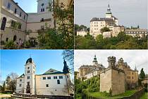 Zámek Hrubý Rohozec/Zámek a hrad Frýdlant.