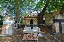 Kaple Božího hrobu u kostela Nalezení sv. Kříže v Liberci.