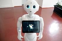 Humanoidního robota Peppera od japonské společnosti SoftBank Robotics s chováním podobným člověku pořídila Fakulta mechatroniky, informatiky a mezioborových studií TUL (FM) začátkem tohoto roku.