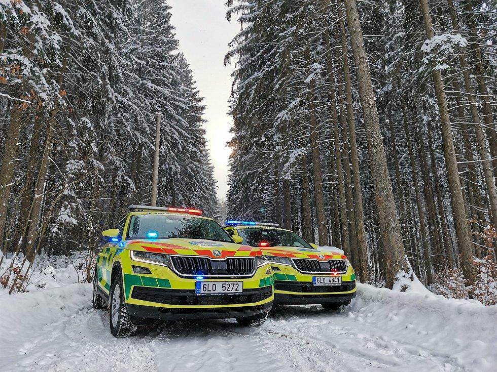 Dva nové vozy Škoda Kodiaq.
