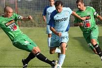Utkání v poháru Ondrášovka Cup sehráli zápas fotbalisté SH Hlavice a FK Baumit Jablonec, a.s.