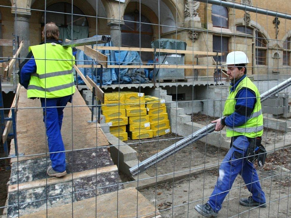 Revitalizace budovy městských lázní v Liberci - prohlídka