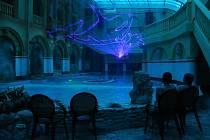 ZÁBAVA V NOVÉM. Vnitřek aquaparku je nyní ve stylu příběhů Julese Verna