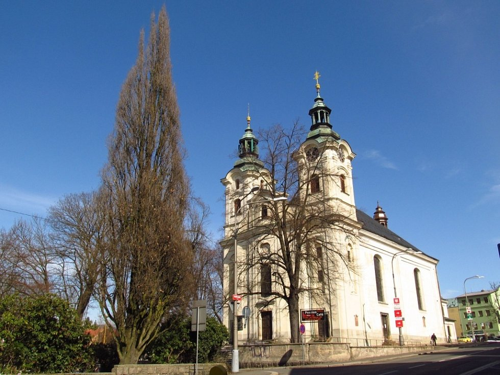 Liberec na konci března 2013.