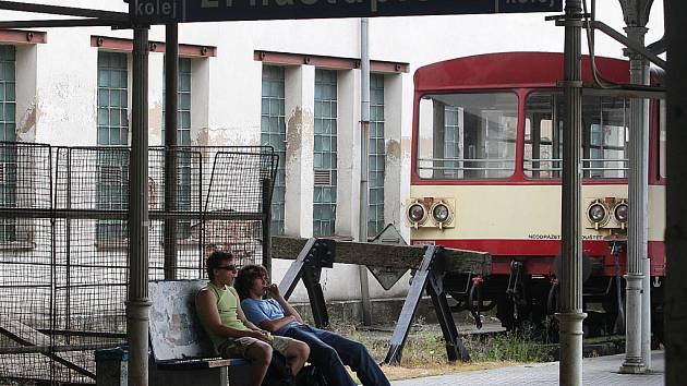 Hlavní vlakové nádraží v Liberci.